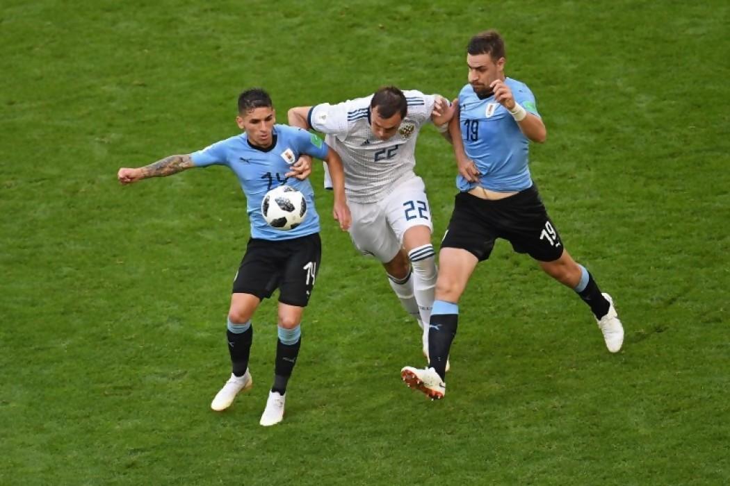 Las estadísticas que dejó Uruguay-Rusia — Noticias | Del Sol 99.5 en el Mundial Rusia 2018