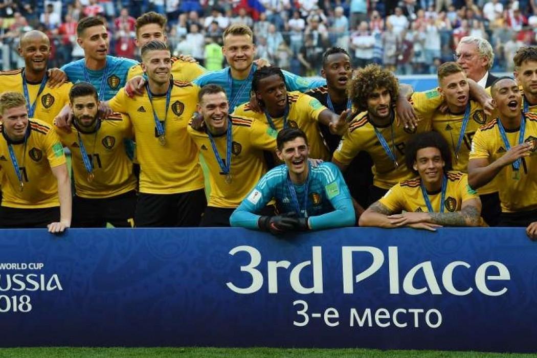 Bélgica logró un histórico tercer puesto — Noticias | Del Sol 99.5 en el Mundial Rusia 2018