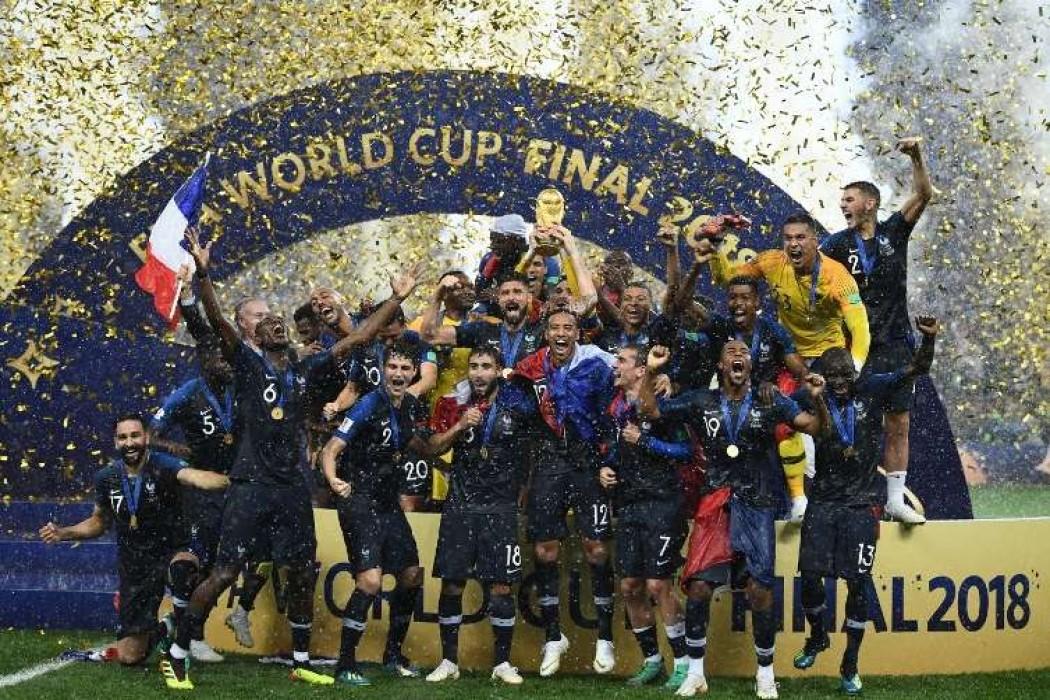 Francia campeón del mundo por segunda vez — Noticias | Del Sol 99.5 en el Mundial Rusia 2018