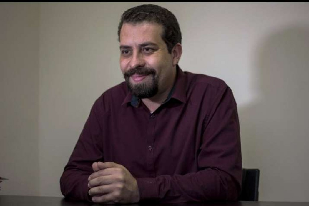 El izquierdista Guilherme Boulos lanzó su candidatura a la presidencia de Brasil — 180.com.uy | Del Sol 99.5 en el Mundial Rusia 2018