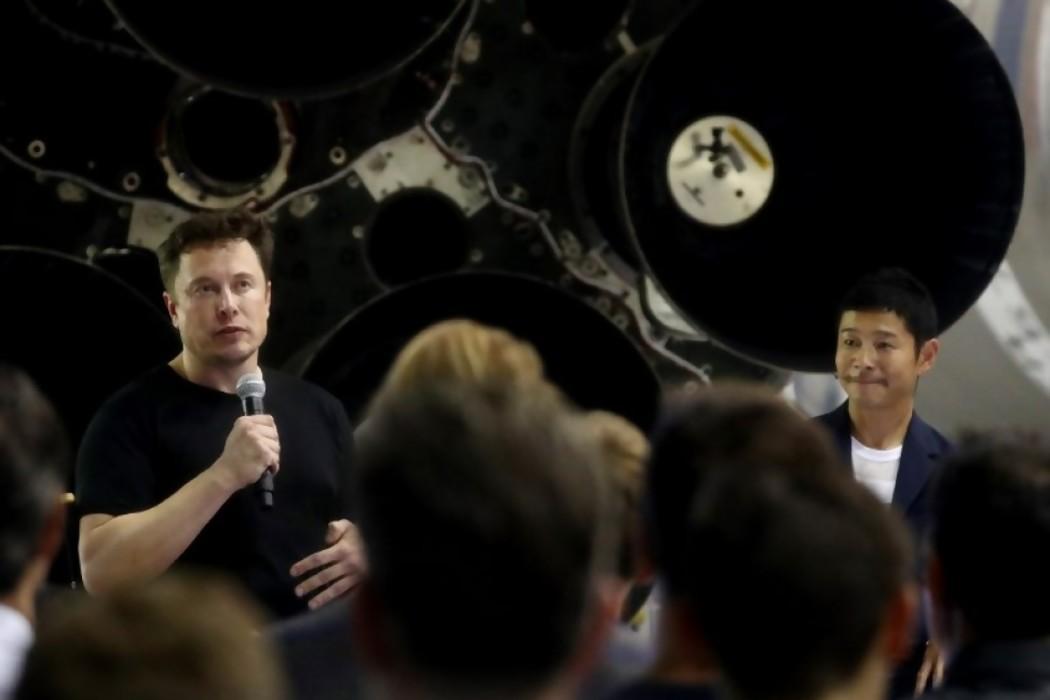 El millonario japonés Yusaku Maezawa será el primer turista lunar de SpaceX — 180.com.uy | Del Sol 99.5 en el Mundial Rusia 2018