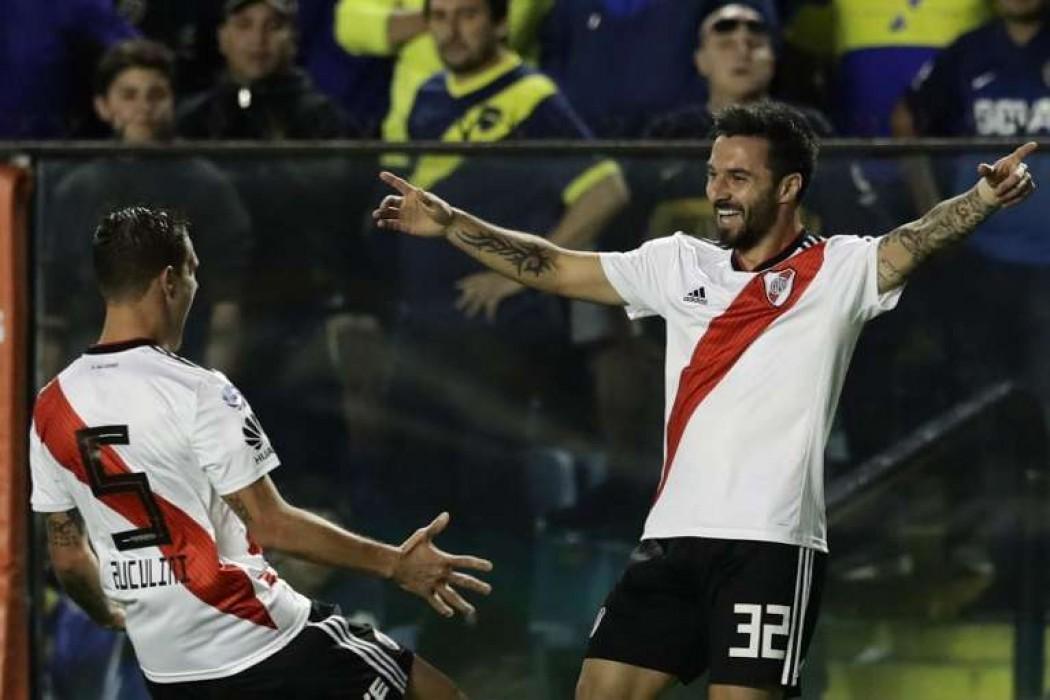 River le ganó el Superclásico a Boca en La Bombonera — 180.com.uy   Del Sol 99.5 en el Mundial Rusia 2018