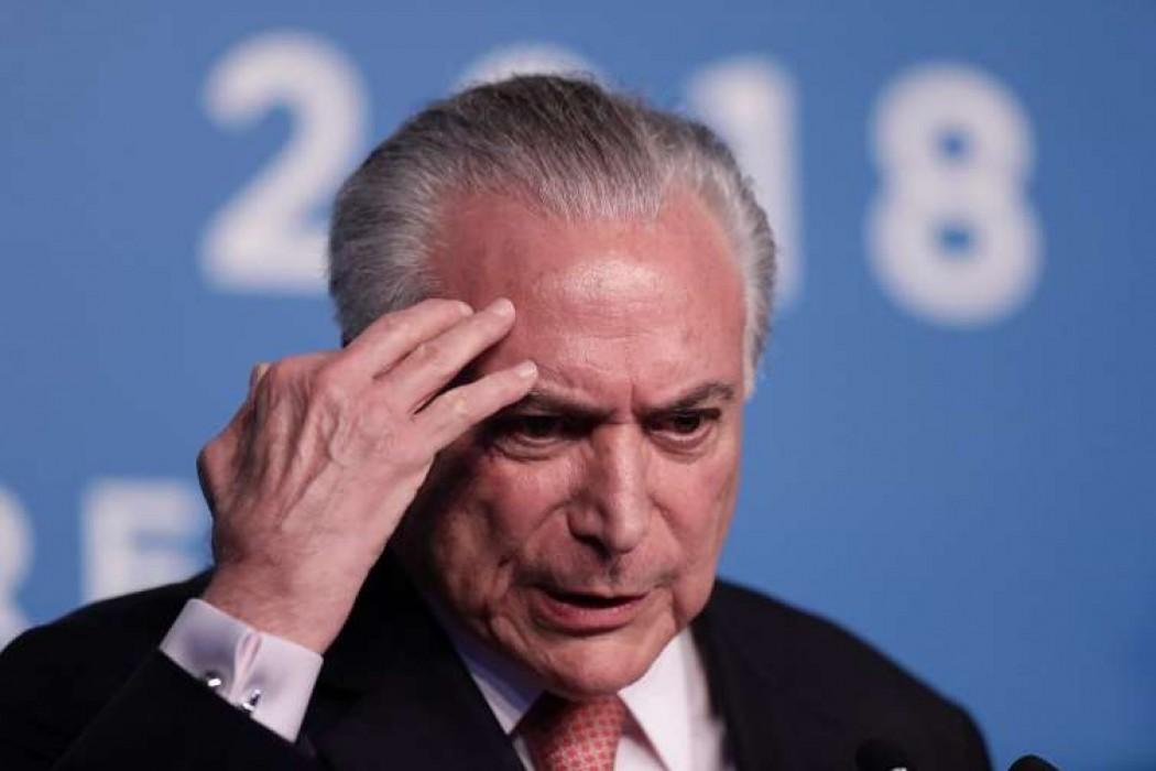 Detienen al expresidente brasileño Michel Temer por caso Lava Jato — 180.com.uy | Del Sol 99.5 en el Mundial Rusia 2018