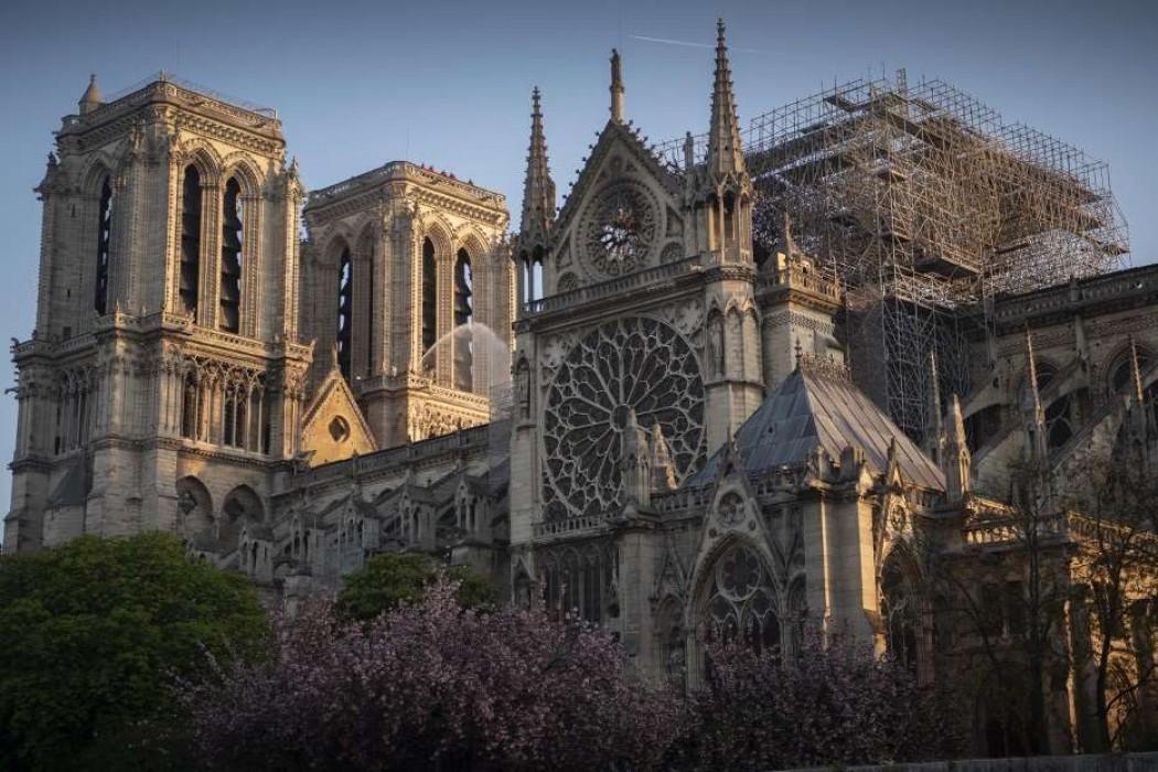 Refuerzan los puntos vulnerables de Notre Dame tras el incendio — 180.com.uy | Del Sol 99.5 en el Mundial Rusia 2018