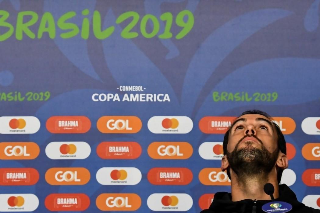 """Godín tiene """"ilusión"""" de revalidar éxitos con Uruguay — 180   Del Sol 99.5 en el la Copa América 2019"""