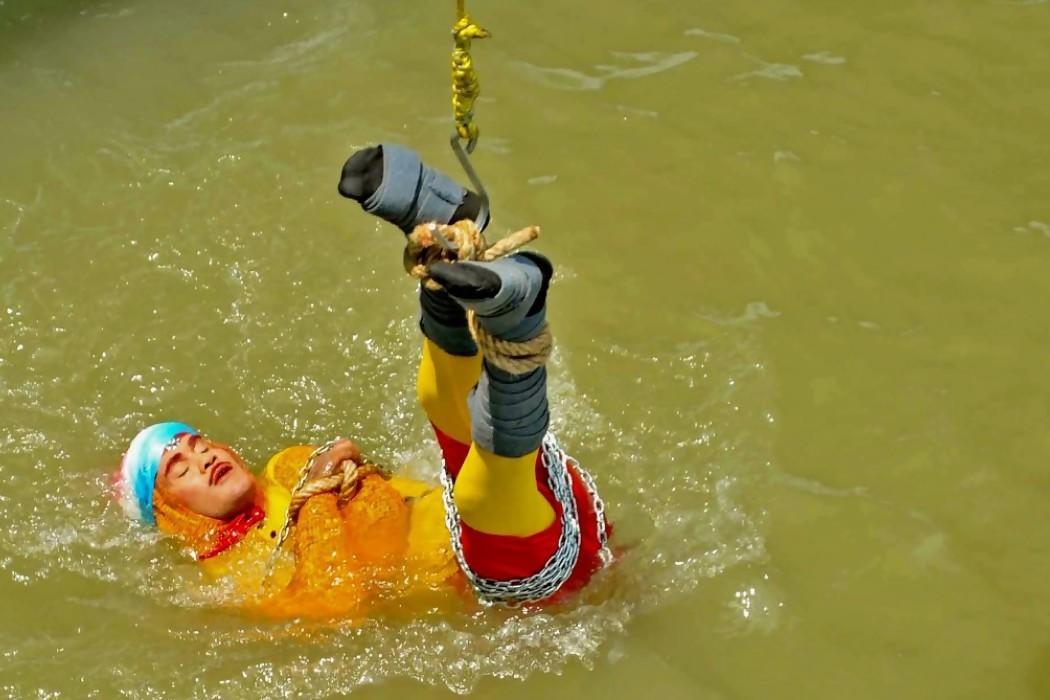 Un mago indio desaparece en el Ganges en un acto de ilusionismo — 180.com.uy   Del Sol 99.5 en el la Copa América 2019