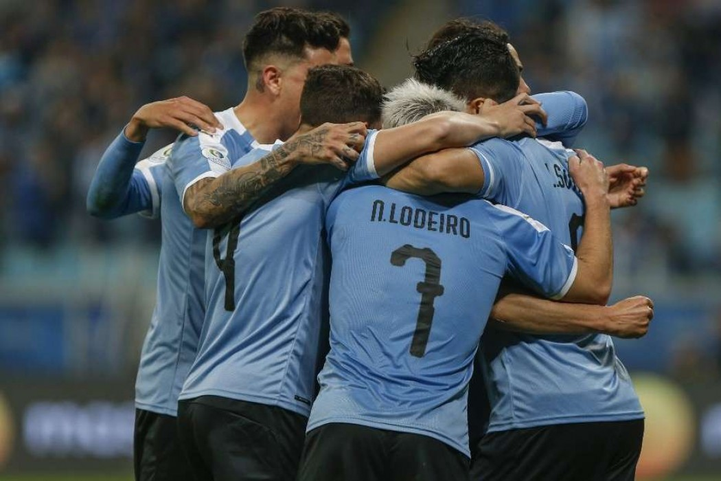 Uruguay jugará ante Perú o Colombia en cuartos — 180 | Del Sol 99.5 en el la Copa América 2019