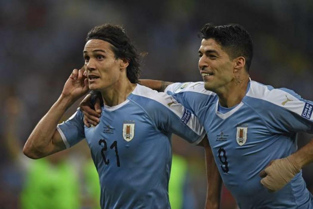Ganó Uruguay, terminó primero y enfrentará a Perú — Noticias | Del Sol 99.5 en el la Copa América 2019