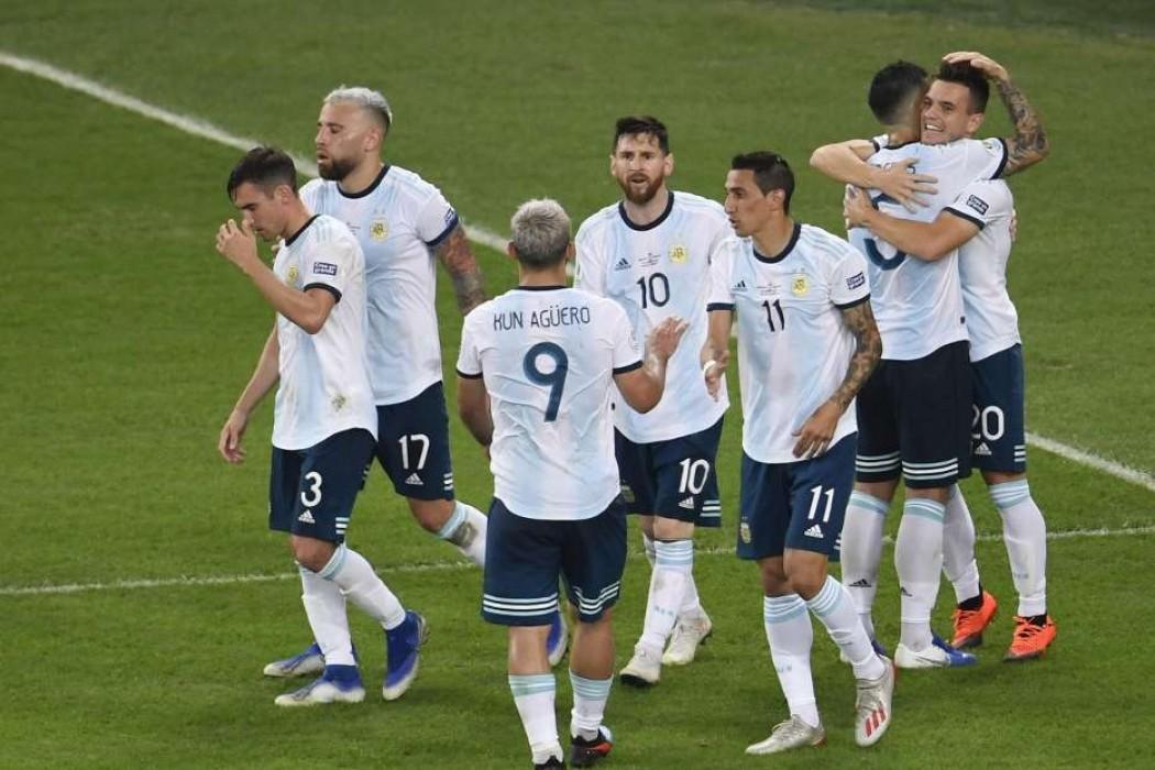 Argentina le ganó a Venezuela y va a semis con Brasil — Noticias | Del Sol 99.5 en el la Copa América 2019