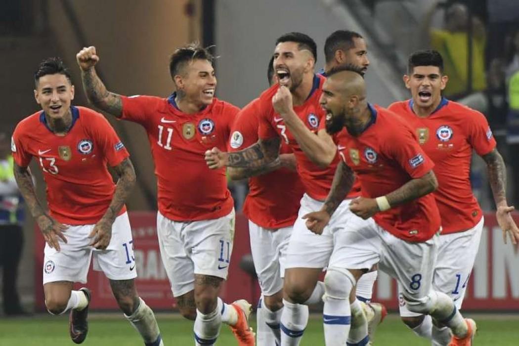 Chile venció en los penales a Colombia y se metió en semifinales de Copa América — 180 | Del Sol 99.5 en el la Copa América 2019
