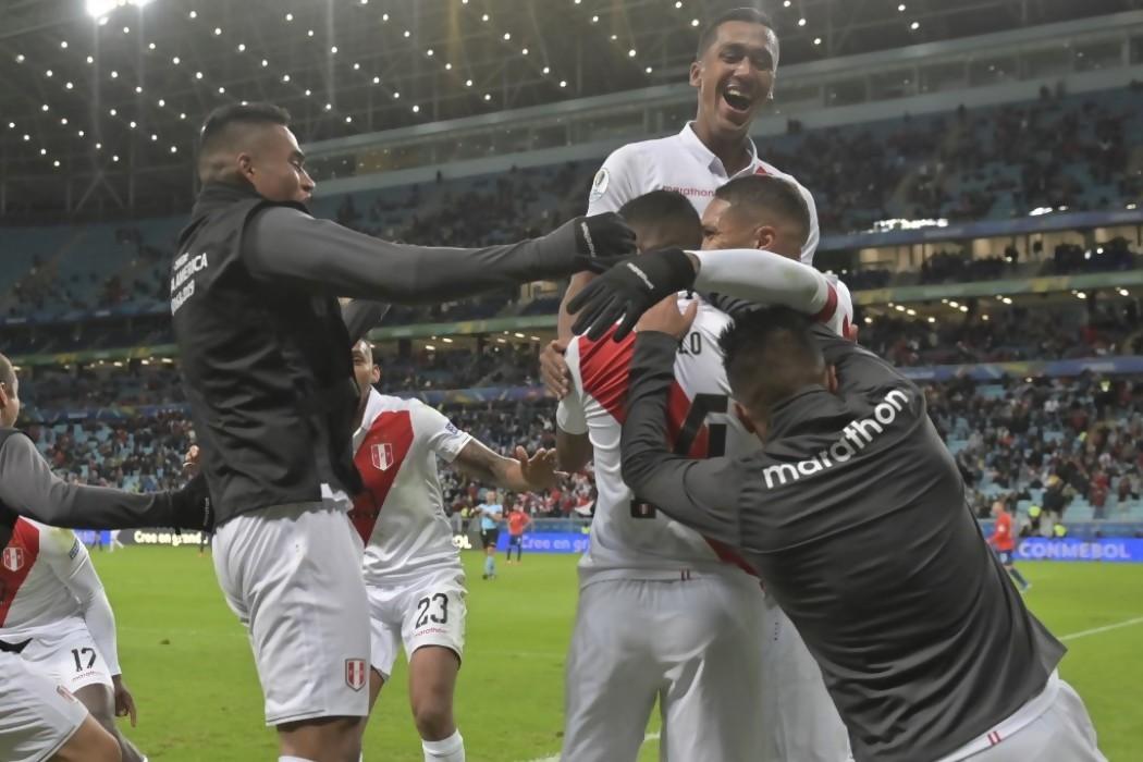 Perú sacude la Copa América y se cita con Brasil en la final — Noticias | Del Sol 99.5 en el la Copa América 2019