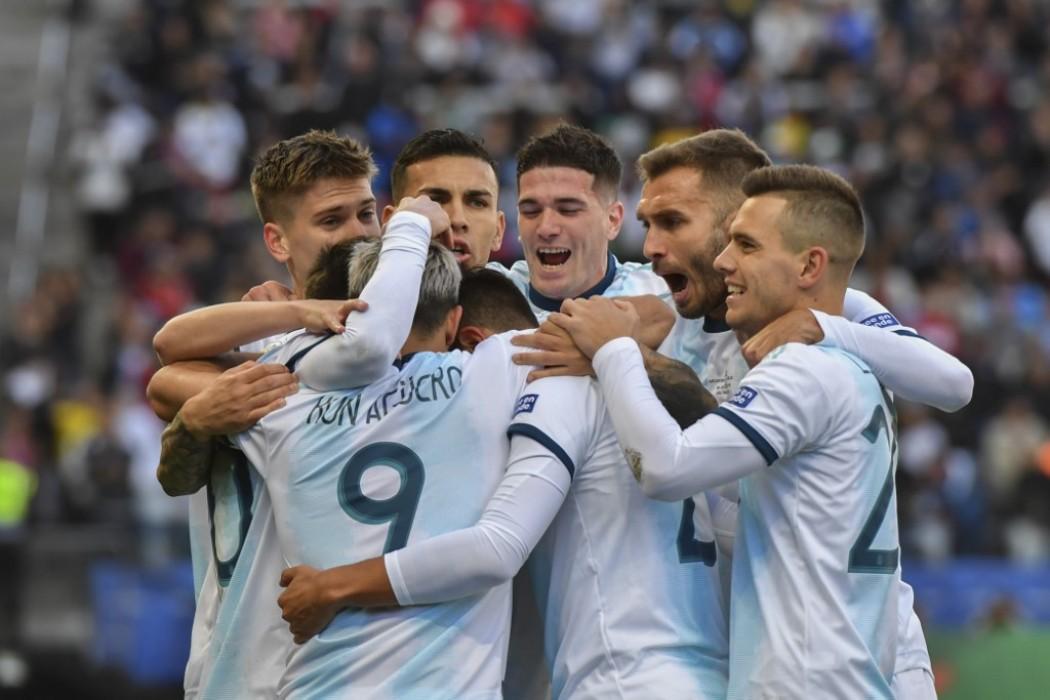 Argentina se quedó con el tercer puesto de la Copa América — Noticias | Del Sol 99.5 en el la Copa América 2019