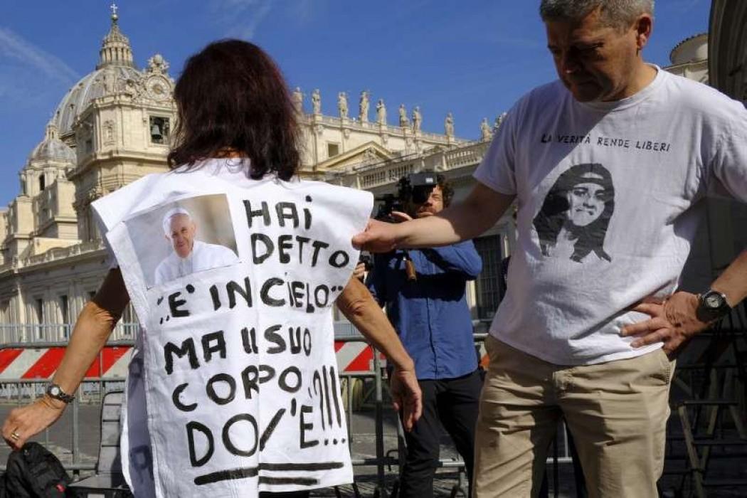 Abren dos osarios en el Vaticano con la esperanza de desentrañar el caso Orlandi — 180.com.uy | Del Sol 99.5 en el Mundial Rusia 2018