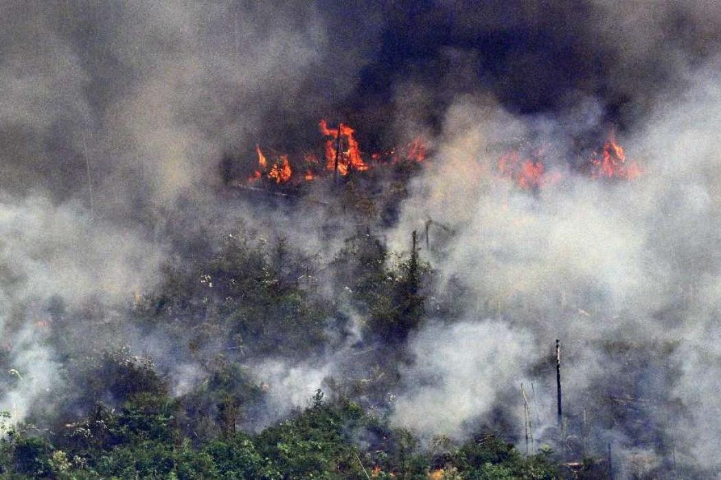 Bolsonaro moviliza tropas contra incendios en la Amazonía y rechaza presión internacional — 180.com.uy | Del Sol 99.5 en el Mundial Rusia 2018