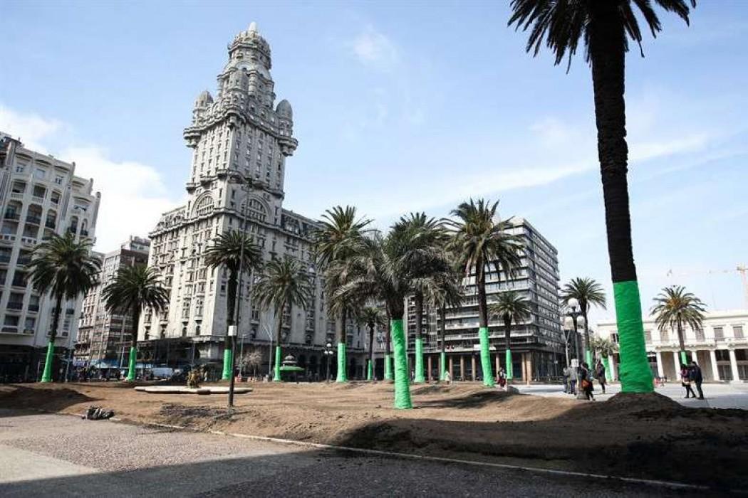 La Plaza Independencia, redecorada para la serie producida por Keanu Reeves — 180.com.uy | Del Sol 99.5 en el la Copa América 2019