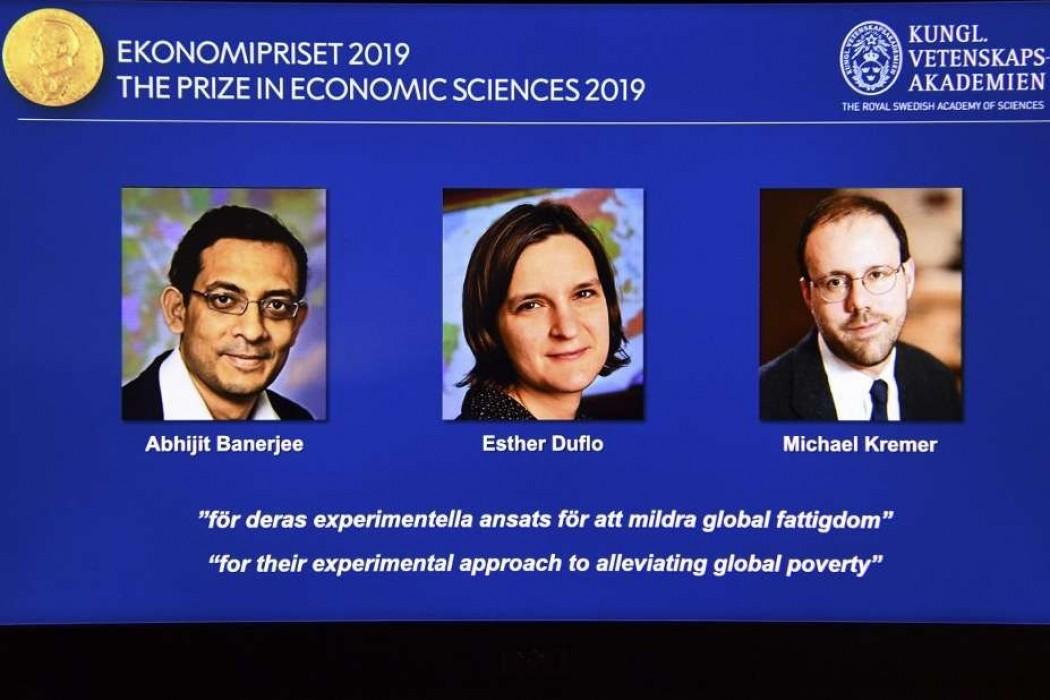 Tres economistas ganan Nobel por trabajos sobre la pobreza — 180.com.uy | Del Sol 99.5 en el la Copa América 2019