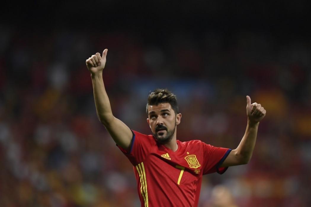 David Villa, máximo goleador de la selección española, anuncia su retirada — 180.com.uy | Del Sol 99.5 en el la Copa América 2019