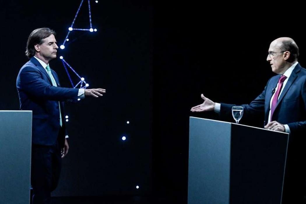 Los cruces entre Lacalle y Martínez durante el debate — 180.com.uy | Del Sol 99.5 en el Mundial Rusia 2018