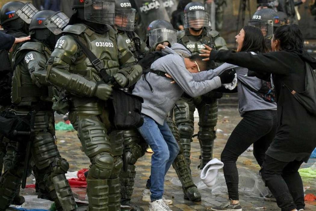 Tres muertos en protestas contra Duque en Colombia — 180.com.uy | Del Sol 99.5 en el Mundial Rusia 2018