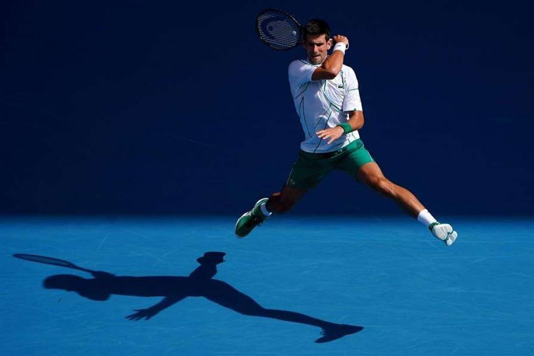 Djokovic se pasea, Federer sufre y Serena dice adiós — 180.com.uy | Del Sol 99.5 en el la Copa América 2019
