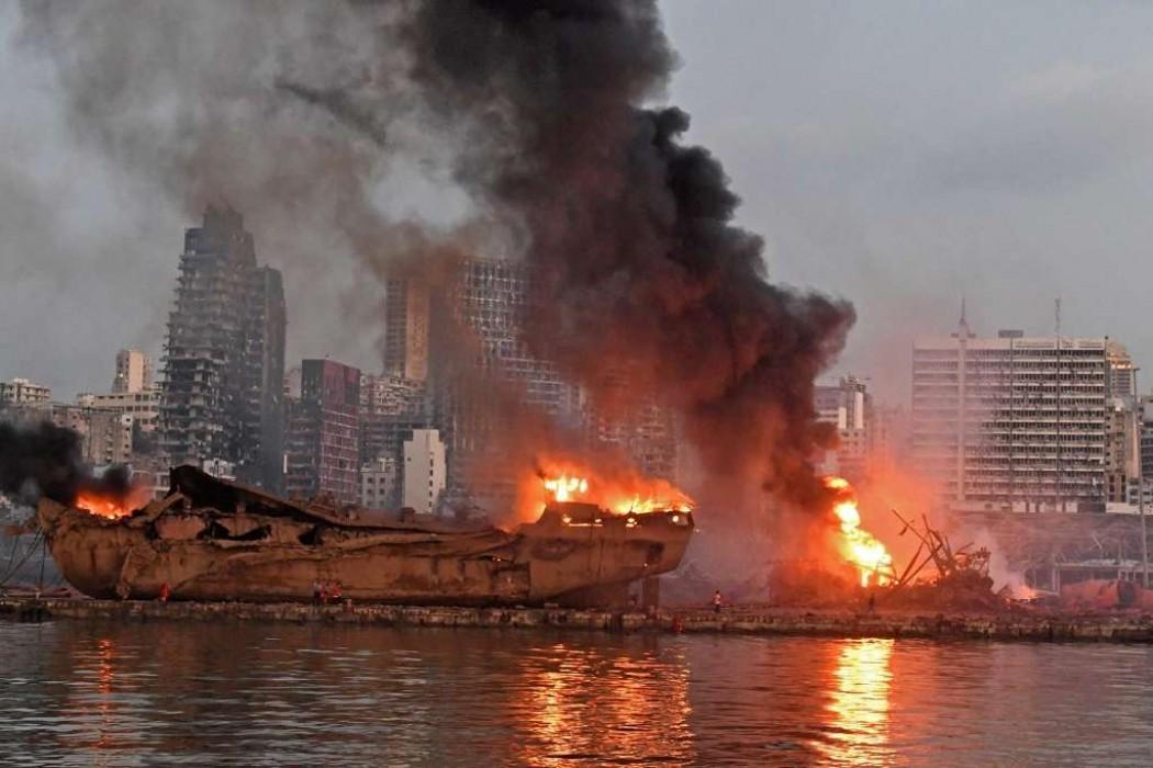 Las imágenes de la destrucción en Beirut — 180.com.uy   Del Sol 99.5 en el la Copa América 2019