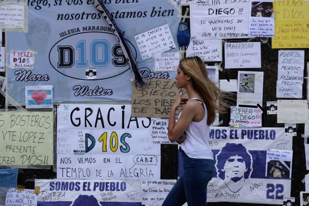 Maradona no descansa en paz: la justicia analiza hasta su corazón — 180.com.uy | Del Sol 99.5 en el la Copa América 2019