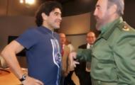 """Portal 180 - Maradona llora a Fidel Castro, su """"segundo padre"""""""