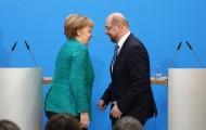 Portal 180 - Merkel sienta las bases para otro mandato en Alemania a cambio de sacrificios