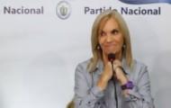 """Portal 180 - Argimón agradeció a Lacalle Pou, el """"varón político"""" que decidió que una mujer sea presidenta del PN"""