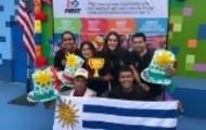 Portal 180 - Liceales de Las Toscas de Caraguatá ganan primer premio en concurso en EEUU