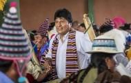 Portal 180 - Morales arranca su campaña electoral con promesas a bolivianos y críticas a EE.UU