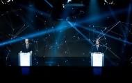 Portal 180 - Las imágenes del debate entre Martínez y Lacalle Pou