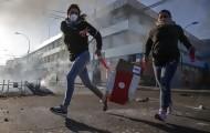 Portal 180 - Las imágenes del fin de semana de protestas en Chile