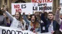 """Portal 180 - Movilización en España contra la liberación de """"La Manada"""""""