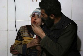 Portal 180 - Bombardeos impiden ayuda humanitaria en enclave rebelde sirio