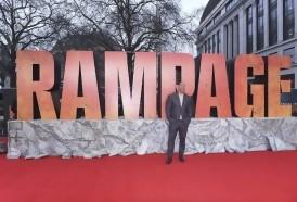 """Portal 180 - """"Rampage"""" supera al horror de """"Un lugar en silencio"""" en la taquilla norteamericana"""