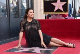 "Portal 180 - ""Un triunfo"" latino: Eva Longoria recibe estrella en Hollywood"
