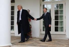 Portal 180 - Las imágenes de la visita de Macron a Trump