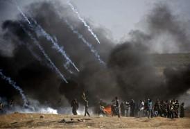Portal 180 - Ejército israelí mató a 58 palestinos en Gaza