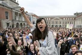 Portal 180 - Irlandeses votan masivamente a favor del derecho al aborto