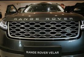Portal 180 - Llegó a Uruguay el Range Rover Velar, un modelo campeón del mundo en diseño
