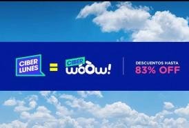 Portal 180 - WoOw! se suma a una nueva edición de Ciberlunes con descuentos de hasta un 83%