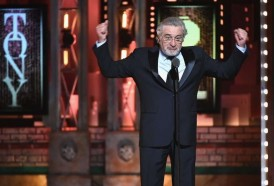 """Portal 180 - """"Fuck Trump!"""", el insulto de Robert De Niro ovacionado en los Premios Tony"""