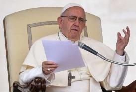 """Portal 180 - El papa compara algunos abortos con una eugenesia """"de guante blanco"""""""