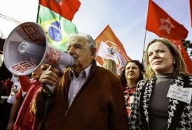 """Portal 180 - Mujica visitó a Lula: """"puede estar preso el cuerpo pero la causa nunca está presa"""""""