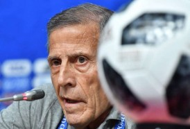 Portal 180 - Tabárez consciente de que Uruguay no ha rendido al nivel que puede tener