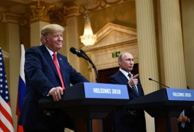 Portal 180 - La actitud conciliadora de Trump con Putin genera indignación en Washington