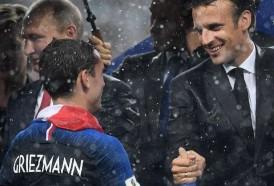 Portal 180 - Vázquez felicita Francia e invita a Griezmann a visitarlo