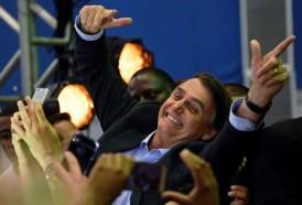 """Portal 180 - El ultraderechista Bolsonaro presentó su candidatura como """"una misión"""" para Brasil"""