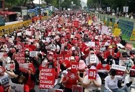 Portal 180 - Masiva protesta en Seúl contra la pornografía con cámaras espías